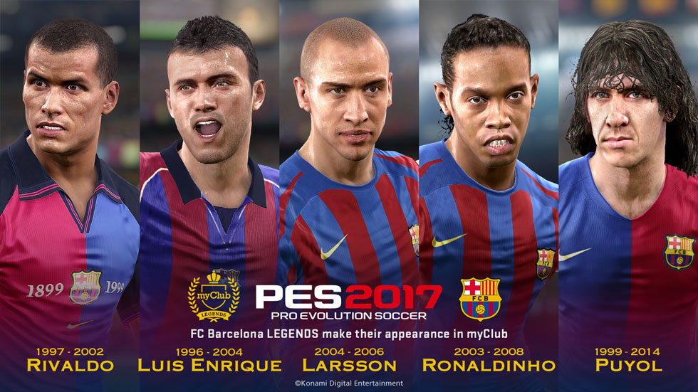 Barca Legends and Kits Announcement and trailer - pes-news com