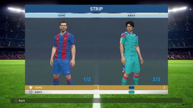 newest 32d81 393ec FC Barcelona Classic Kits - pes-news.com