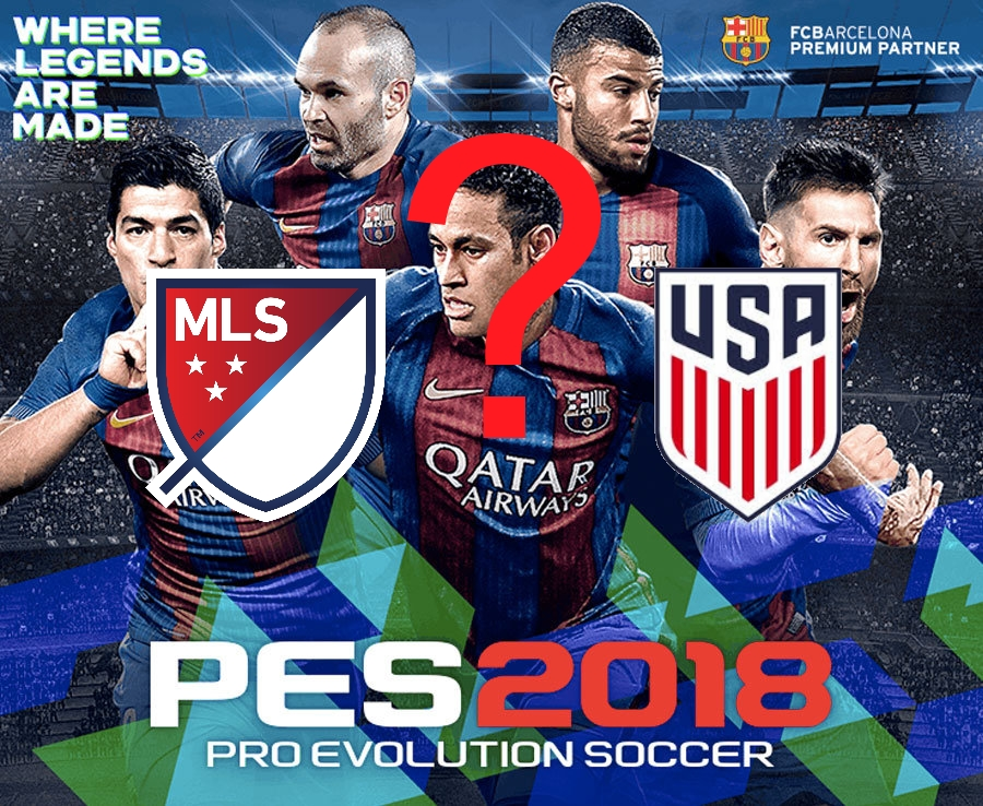 Rumor: Will PES 2018 get a MLS or US license? - pes-news com
