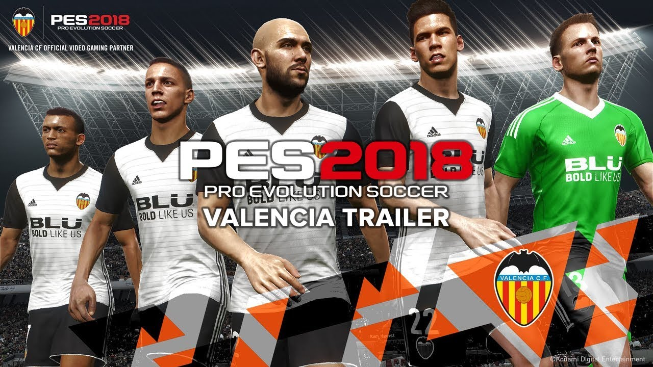 c132b09b176 Konami announced today their partnership with Valencia CF. We will see  their home and away kits in the game and their first squad will get  facescans.